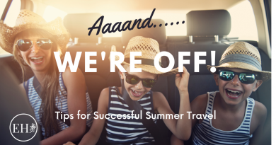 summer travel with kids